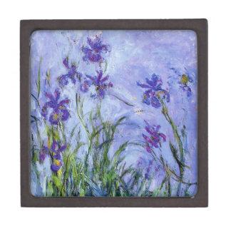 Monet Lilac Irises Gift Box