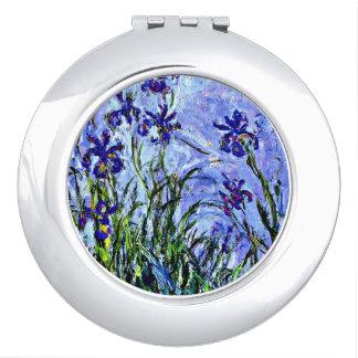 Monet - lilas espejo compacto
