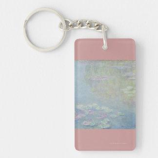 Monet - Lilies Keychain