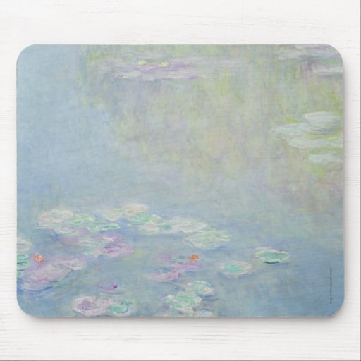 Monet - Lilies Mousepad