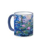 Monet: Lirios de agua 1919 Taza De Café