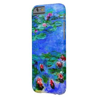 Monet - lirios de agua (rojos) funda de iPhone 6 barely there