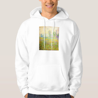 Monet Meadows at Giverny Hoodie