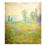 Monet Meadows at Giverny Photo Print