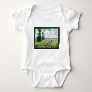 Monet, Monet, enredadera de Monet Babygrow Playeras