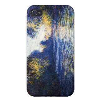 Monet Morning on the Seine Fine Art  iPhone 4 Covers