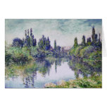 MONET Morning on the Seine Greeting Card