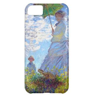 Monet: Mujer con el parasol