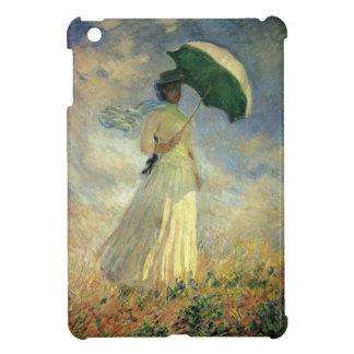 """Monet, """"mujer con un parasol"""", mini caso del iPad iPad Mini Protector"""