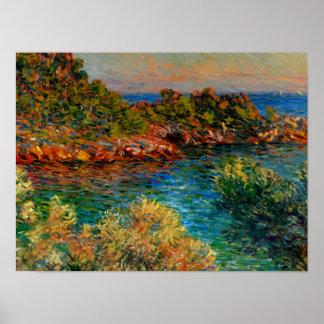 Monet - Near Monte Carlo Poster
