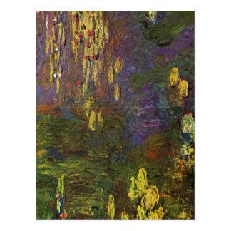 ¿Monet, ninfa de Claude? como (Seerosen) Techni 19 Tarjetas Postales