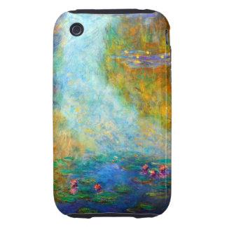 Monet Nympheas iPhone 3 Tough Cárcasas