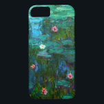 "Monet Nympheas Water Lilies iPhone 7 case<br><div class=""desc"">Monet Nympheas Water Lilies iPhone 6 case. Oil painting on canvas 1915. For the last thirty years of his life, Monet painted his lily pond at Giverny. Nympheas represents one of his best and most beloved works with its rich and varied use of greens. A great gift for fans of...</div>"