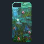 """Monet Nympheas Water Lilies iPhone 7 case<br><div class=""""desc"""">Monet Nympheas Water Lilies iPhone 6 case. Oil painting on canvas 1915. For the last thirty years of his life, Monet painted his lily pond at Giverny. Nympheas represents one of his best and most beloved works with its rich and varied use of greens. A great gift for fans of...</div>"""