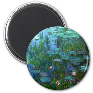 Monet Nympheas Water Lilies Magnet