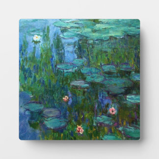Monet Nympheas Water Lilies Plaque