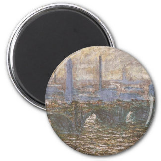 Monet Painting 2 Inch Round Magnet