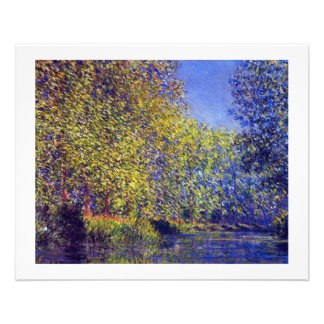 Monet painting bend in Epte river near Giverny Flyer