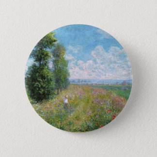 Monet Painting Button