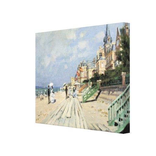 Monet Painting Canvas Print