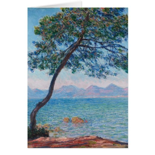 Monet Painting Card