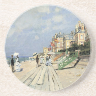 Monet Painting Drink Coaster