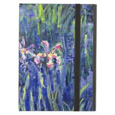 Monet Painting - Irises 2 Ipad Air Cases at Zazzle