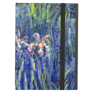 Monet Painting - Irises 2 Ipad Air Cover at Zazzle