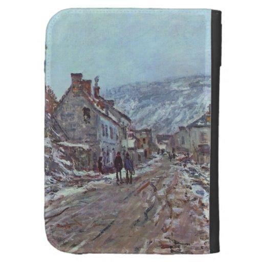 Monet Painting Kindle Case