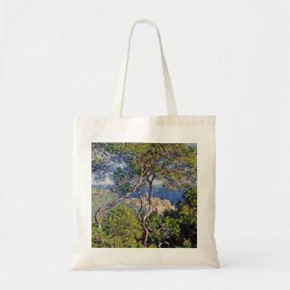 Monet Painting Landscape Tote Bag