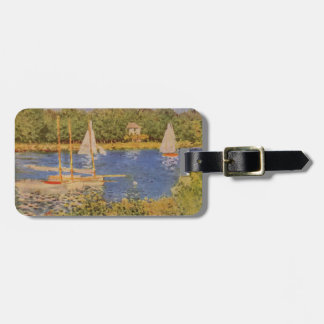 Monet Painting Luggage Tag