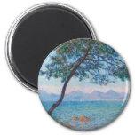 Monet Painting Magnet
