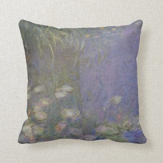 Monet Painting Throw Pillows