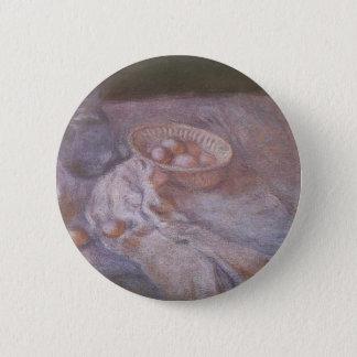 Monet Painting Pinback Button