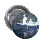 Monet Painting Pinback Button