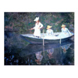 Monet Painting Post Cards