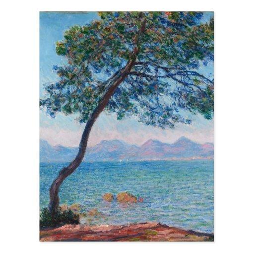 Monet Painting Postcards