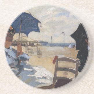 Monet Painting Sandstone Coaster