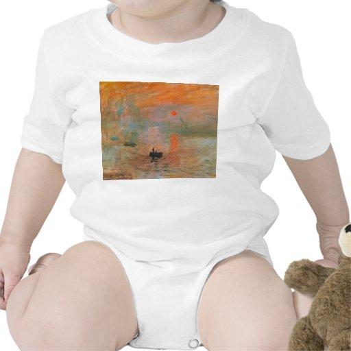Monet Painting T Shirts