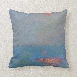 Monet Painting Throw Pillow