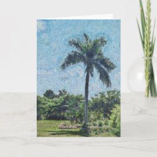 Monet Palm Card