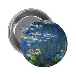 Monet Pinback Button