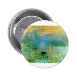 Monet Pinback Buttons