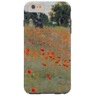 Monet Poppies Tough iPhone 6 Plus Case