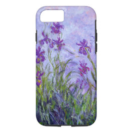 Monet Purple Irises iPhone 7 Case