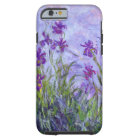 Monet Purple Irises Tough iPhone 6 Case