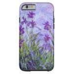 Monet Purple Irises Tough iPhone 6 Case