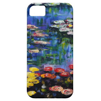 Monet Purple Water Lilies iPhone 5 Case