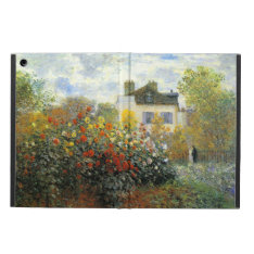 Monet Rose Garden Ipad Case at Zazzle
