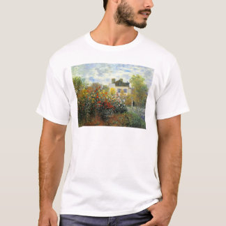 Monet Rose Garden T-shirt